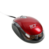 USB Optical Mouse RAPTEC (RT11) Red