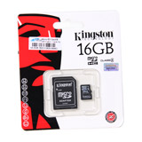 Micro SD 16GB Kingston (SDC4  Class 4)