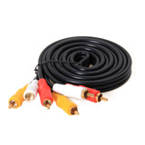 Cable Sound RCA TO RCA 3:3 ( 1.8M) THREEBOY