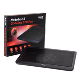 Cooler Pad N-19 (1Fan) Black