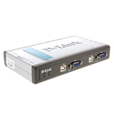 KVM Switch D-LINK (DKVM-4U) 4 Port USB