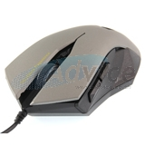 USB Optical Mouse NUBWO (NM-19 SILENT) Silver/Black