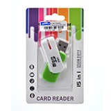 Ext. Card Reader T-Flash/Micro SD (A64) คละสี