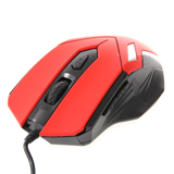 USB Optical Mouse NUBWO (NM-18 PHELAN) Red/Black
