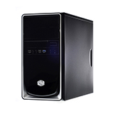 ATX Case (NP) COOLER MASTER Elite344 (Black-Silver)