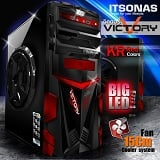 ATX Case ITSONAS Victory (Black-Red)