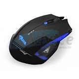 OPTICAL MOUSE E-BLUE Mazer Type-R Wireless (Black)