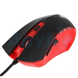 USB Optical Mouse NUBWO (NM-10 LUCIEN) Black/Red