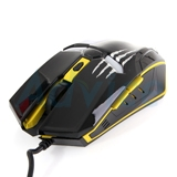 USB Optical Mouse NUBWO (NM-32 MARKE) Black/Yellow