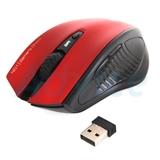 Wireless Optical Mouse NUBWO (NM-09 ENTERPRISE) Black/Red