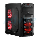 ATX Case (NP) Tsunami Megatron (Black-Red)