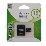 Micro SD 16GB Apacer (Class 4)
