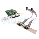 Card PCIe TO Serial/Parallel