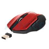 Wireless Optical Mouse NUBWO (NM-65 OMNI) Red/Black