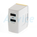 Adapter Dual USB Charger (3.4A)