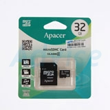 Micro SD 32GB Apacer (Class 4)
