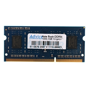 RAM DDR3(1333  NB) 4GB Kingston