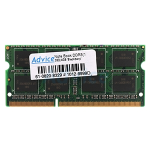RAM DDR3(1333, NB) 4GB Blackberry 16 Chip