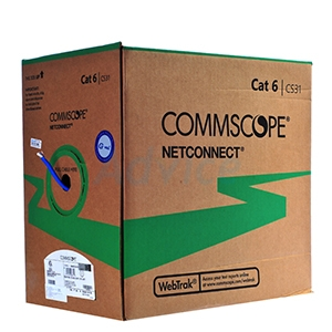 CAT6 UTP Cable (305m/Box) Commscope 23AWG (884022314/10)