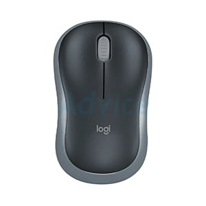Wireless Optical Mouse LOGITECH (M-185D) Black/Grey