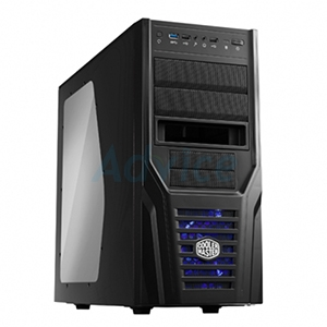 ATX Case  (NP) COOLER MASTER Elite431 Plus (Black)