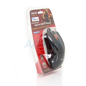 USB Optical Mouse OKER (L7-320) Black