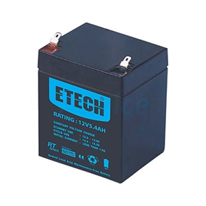 Battery 5.4Ah 12V ETECH