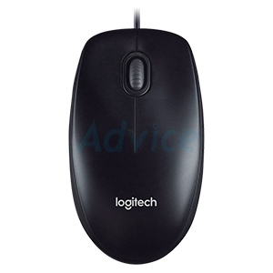 USB Optical Mouse LOGITECH (M100R) Black