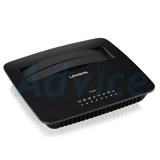 ADSL Modem Router LINKSYS (X1000-AP) Wireless N300