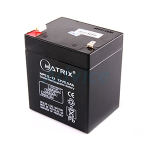 Battery 5.5Ah  12V Matrix