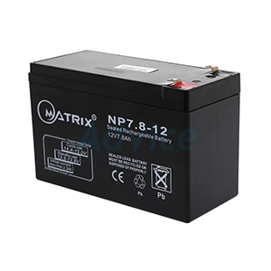 Battery 7.8Ah 12V Matrix ( BT005)