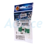 Jack RJ45 CAT5 LINK (US-1005SC3) Green Original