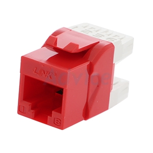 Jack RJ45 CAT5 LINK (US-1005SC2) Red