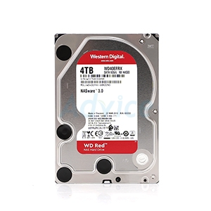 4 TB HDD WD Red NAS (5400RPM, 64MB, SATA-3, WD40EFRX)