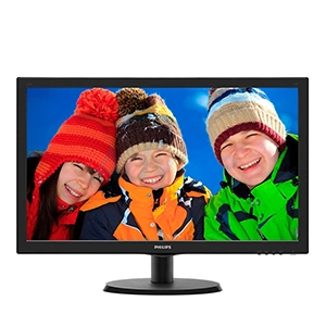 Monitor 21.5'' PHILIPS 223V5LSB2/00 (TN, DVI, VGA) 60Hz