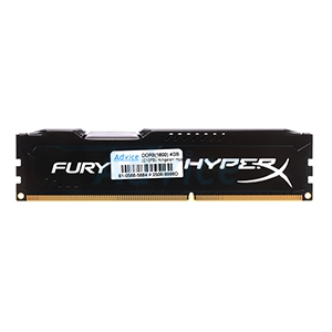 RAM DDR3(1600) 4GB Kingston Hyper-X FURY (HX316C10FB/4)Black