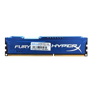 RAM DDR3(1600) 4GB Kingston Hyper-X FURY (HX316C10F/4)Blue