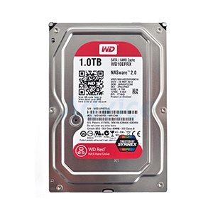 1 TB HDD WD Red NAS (5400RPM, 64MB, SATA-3, WD10EFRX)