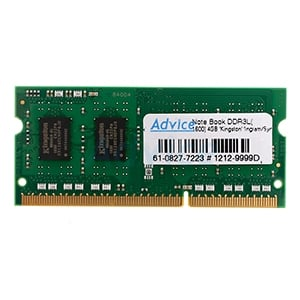 RAM DDR3L(1600, NB) 4GB Kingston VALUE RAM (KVR16LS11/4)