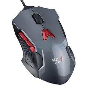 USB Optical Mouse MD-TECH (BC-101) Gaming Gray/Black
