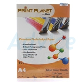 Photo Inkjet Glossy Double A4 220G.PLANET  (100/Pack)