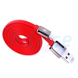 Cable USB To Micro USB (1M, กลิ่นหอม) 'REMAX' Red