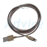Cable USB To Lightning (1.2M,F8J144bt04) 'BELKIN' Gold