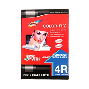 Color Fly Photo Inkjet 4x6 180G. (100/Pack)