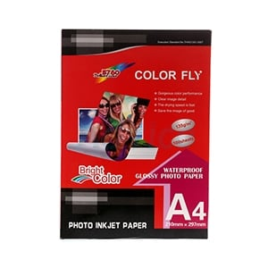 Color Fly  Photo Inkjet A4 135G. (100/Pack)