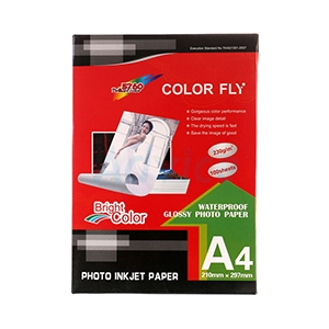 Photo Inkjet Glossy A4 230G.Color Fly (100/Pack)