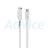 Cable USB To Micro USB (1M,Full Speed) 'REMAX' White