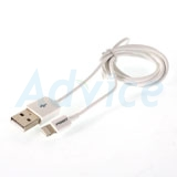 Cable Charger for iPhone (1M,AL05-1000,Fast) 'PISEN' White