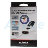 Wireless USB Adapter EDIMAX (EW-7811UTC) AC600 Dual Band (Lifetime Forever)