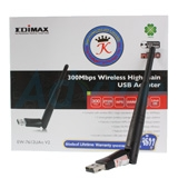 Wireless USB Adapter EDIMAX (EW-7612UAn V2) N300 High Gain (Lifetime Forever)